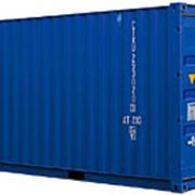 Морской контейнер 20 футов б/у фото