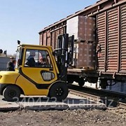 Разгрузка вагонов фото