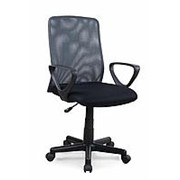 Кресло компьютерное Halmar ALEX (черно-серый) фото
