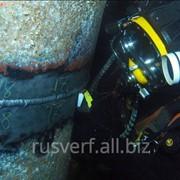 Очистка дна акватории от посторонних предметов фото