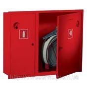 Пожарный шкаф Под один рукав Д-51/66мм один огнет. до15 кг. ШПК 900*700*230 навесной б/задней стенки фото