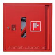 Шкаф для пожарного рукава 600х600х230 фото