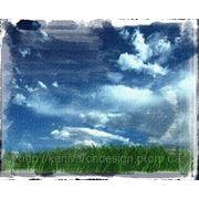 Широкоформатная интерьерная печать на холсте фото