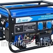 Бензогенератор электростанция TSS SGG 2600 E фото