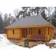 Шлифовка домов и бань из дерева фото