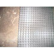 Сетка сварная 100х100, диаметр проволоки 2,5 размер карты 2х1 фото
