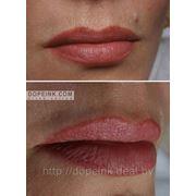 Перманентный макияж (татуаж) губ фото