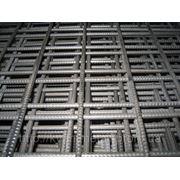 Сетка сварная 100х100, диаметр проволоки 3,7 размер карты 2х1 фото