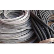 Шнуры резиновые уплотнительные маслобензостойкие (МБС) кислотоморозощелочестойкие (ТМКЩ) силиконовые (Si) и вакуумные фото