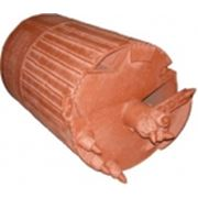Бурковш KBF-K (скальный грунт) в комплектации режущими зубьями 700 мм фото