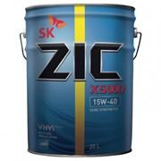 Моторное масло ZIC X5000 15W-40 (20 л.) Бывшее ZIC 5000 фото