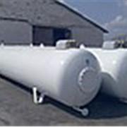 Газовая Емкость наземная с бок. люком 400мм 9,15м3 производства VPS, Deltagaz Чехия фото