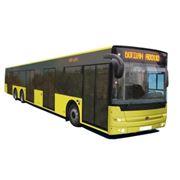 Богдан А80190 аэродромный автобус  двигатель Deutz TCD объем двигателя 7150 куб. см АКПП Voith Diwa D854.5 (Allison T325 R) ABS мест 147 количество дверей: 6 пр-во Украина. Для обслуживания аэропортов. фото