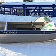 Алюминиевый моторный катер Тактика 390 фото