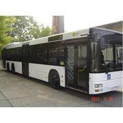 Продажа автобусов MAN A26 NL 313 Euro 2 Двигатель 310 л.с Коробка передач: Автоматическая Число мест: 41 Год выпуска: 11/2000 Кондиционер Цвет: белый фото