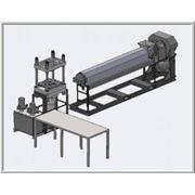 Продаю действующую линию по производству изделий из полимернопесчанной смеси. фото