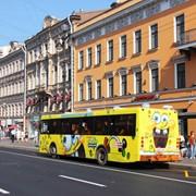 Реклама на транспорте, все форматы фото
