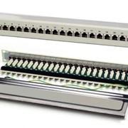 """NETS-PP-KFSTP24 Патч-панель 24-портовая, экранированная, FTP стоечная 19"""", кат. 5Е фото"""