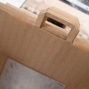 Офсетная печать на крафте, изготовление мешков. фото