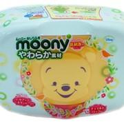 Влажные салфетки moony в пластиковом кейсе Артикул: vmm80 фото