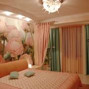 Пошив штор, покрывал, декоративных подушек фото