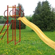 Горка большая Вертикаль скат 3,0 метра фото