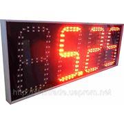 Ценник светодиодный высота цифры 300мм (комплект-две стороны) фото
