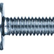 Винт метрический полукруглая головка с буртиком DIN 967 фото