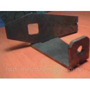 Изготовление деталей из листового металла. Лазерная резка. фото