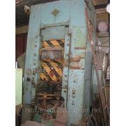 Пресс холодного выдавливания К0034 Cold Extruding Press фото