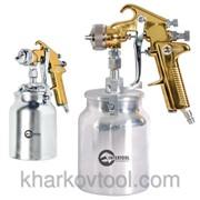 Краскораспылитель пневматический HP GOLD PROF Intertool PT-0219 фото