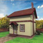 Дачный домик - проект код дп6а фото