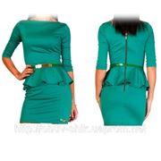 Платье Баска рукав фото