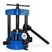 Гидравлический пресс ручной ПГР-10 фото