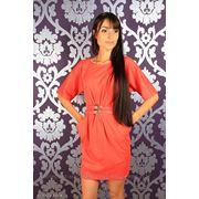 Платье с поясом фото