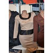 Платье дайвинг - пояс фото