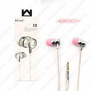 Внутриканальные наушники с запахом парфюма LC.ccy C-13 Pink (Розовый) фото