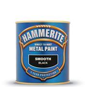 Hammerite™ гладкая антикоррозийная и декоративная краска, 5л фото