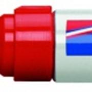 Перманентный маркер, круглый наконечник, 3-4 мм Красный фото