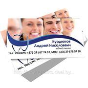 Визитки Минск фото