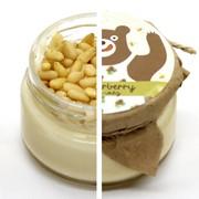 Крем-мед Премиум с кедровыми орешками 250 мл фото