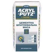 Цементная шпаклевка для внешних работ Sniezka Acryl-Putz Fasad (Снежка Акрил-Путц Фасад) Киев фото