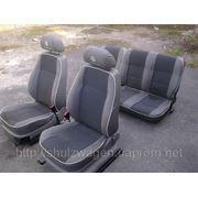 Сидушки передние не оригинальные на VW Caddy фото