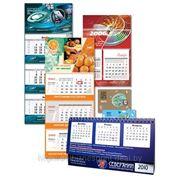 Календари квартальные фирменные фото