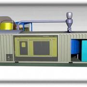 Линия гранулирования биомассы мобильная фото
