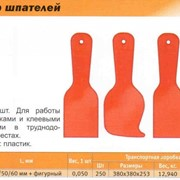 Набор шпателей 4 шт. 40 мм/50 мм/60 мм + фигурный фото