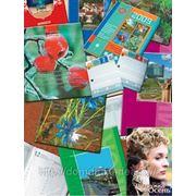 Печать рекламной продукции: буклетов, каталогов, календарей, ежедневников фото