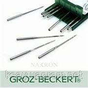 Иглы до промышленных швейных машин DPx5 # 70-110R/FFG/SES Groz-Beckert (Германия) фото