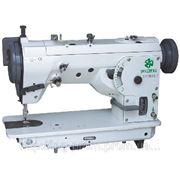 ZOJE ZJ457B105-L-F швейная машина, двух укольный зигзаг, высокоскоростного ротационного типа фото