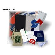 Блокноты с фирменной символикой А6 фото